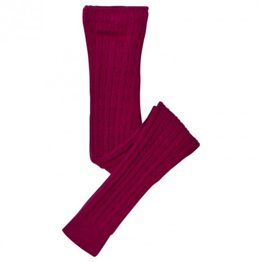 Hatley Purple Cable Knit Leggings Legginsit