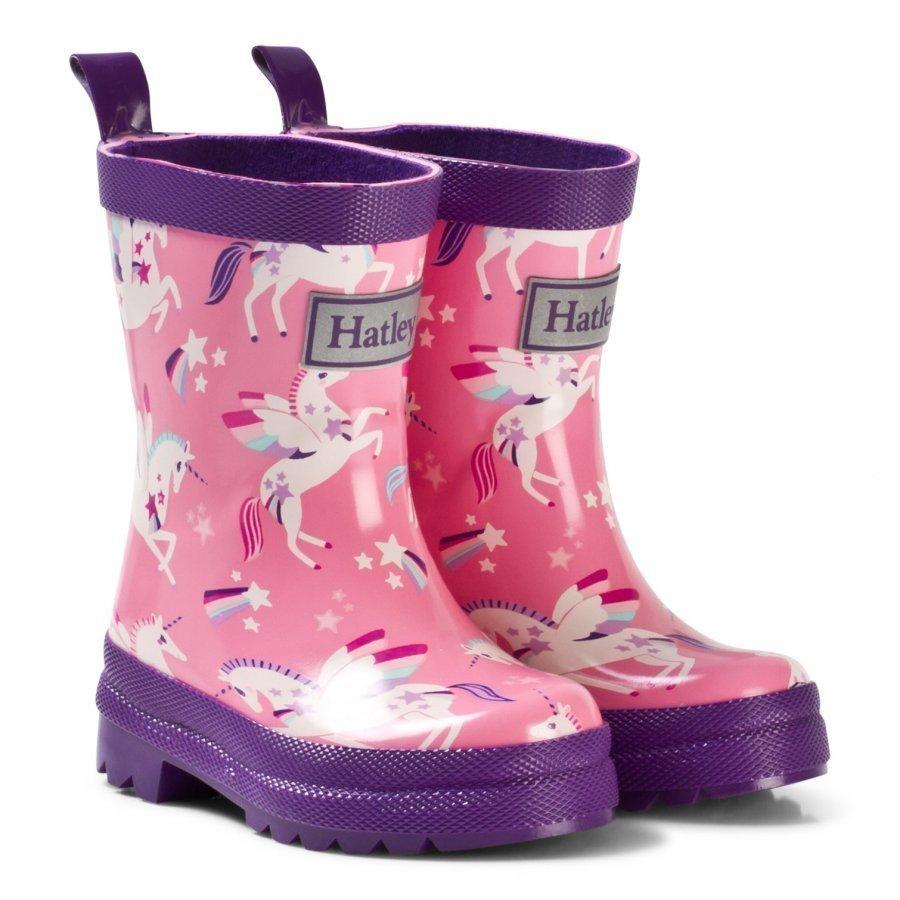 Hatley Rainbow Unicorns Classic Rain Boots Kumisaappaat