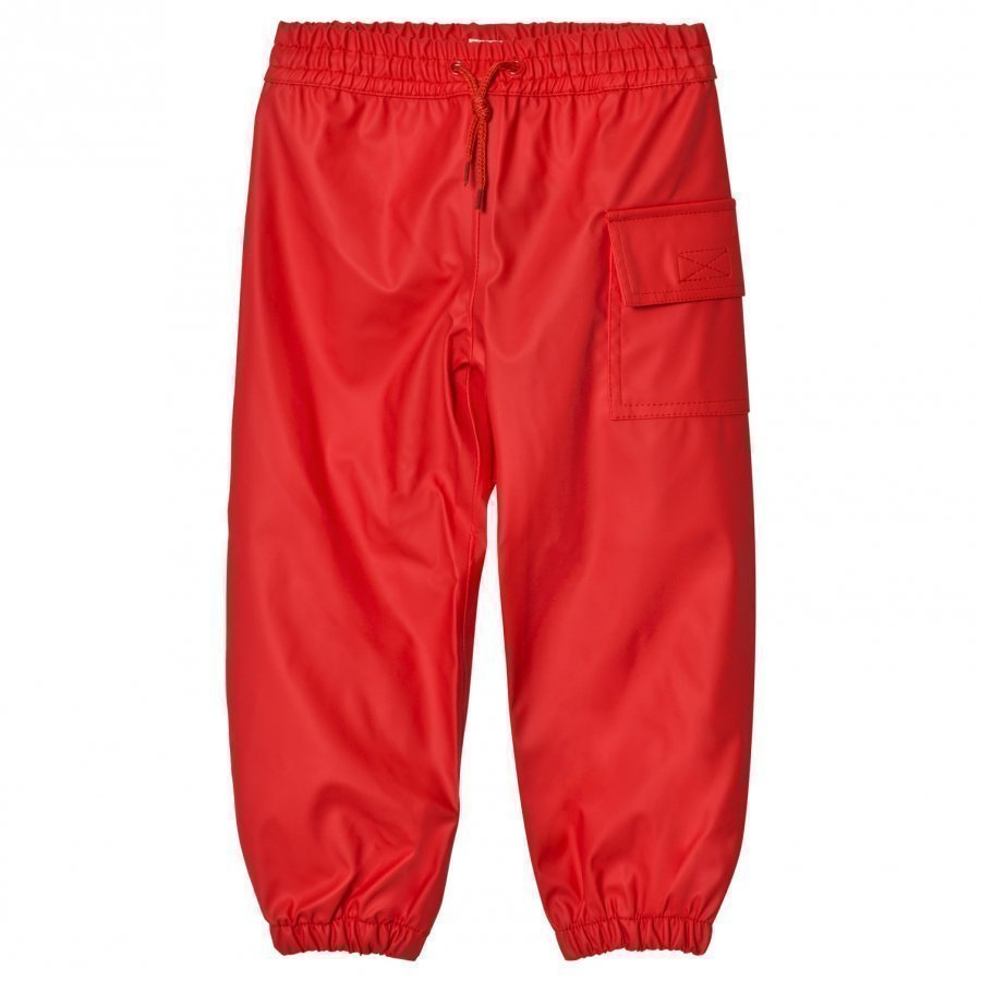 Hatley Red Waterproof Trousers Housut
