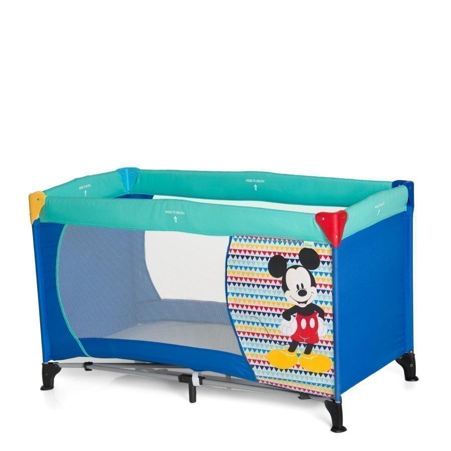 Hauck Matkasänky Drem N Play Mickey Geo Blue