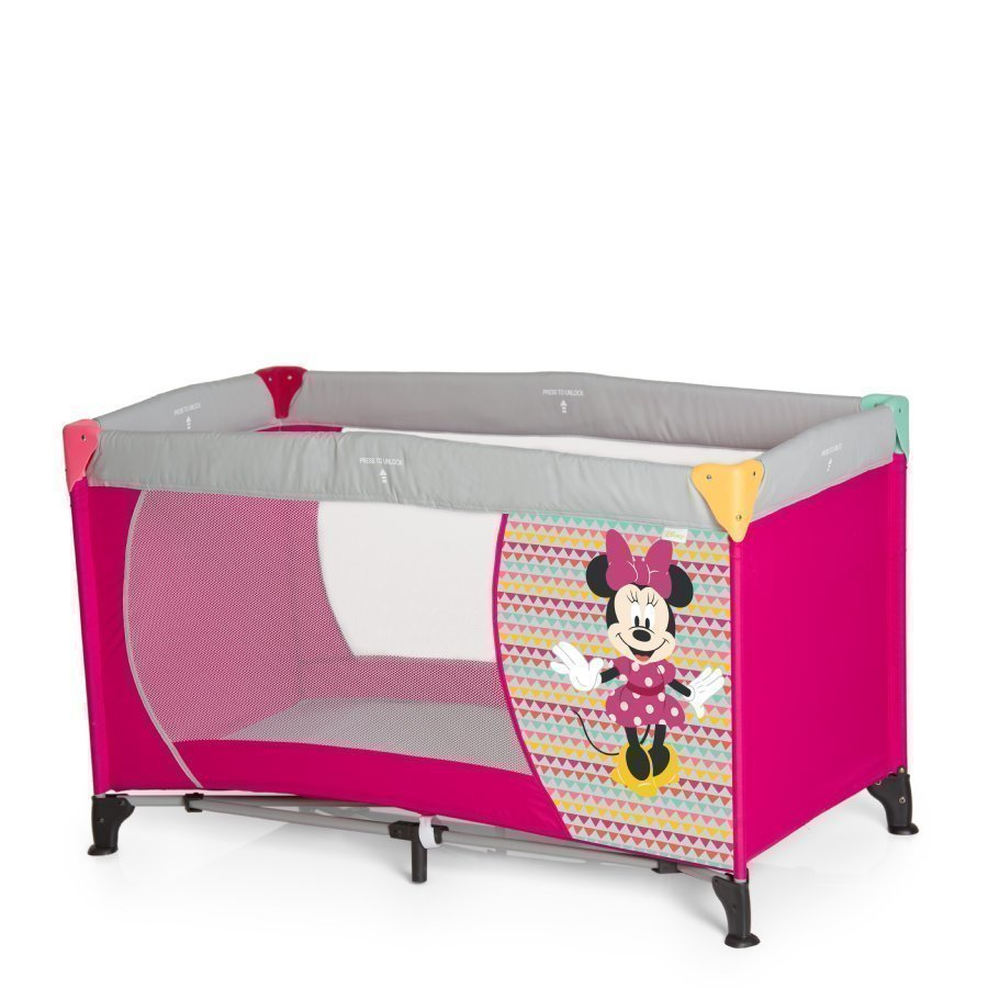 Hauck Matkasänky Drem N Play Minnie Geo Blue
