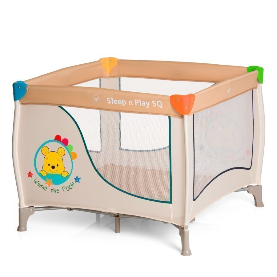 Hauck Sleep'n Play Sq Matkasänky Pooh Ready To Play