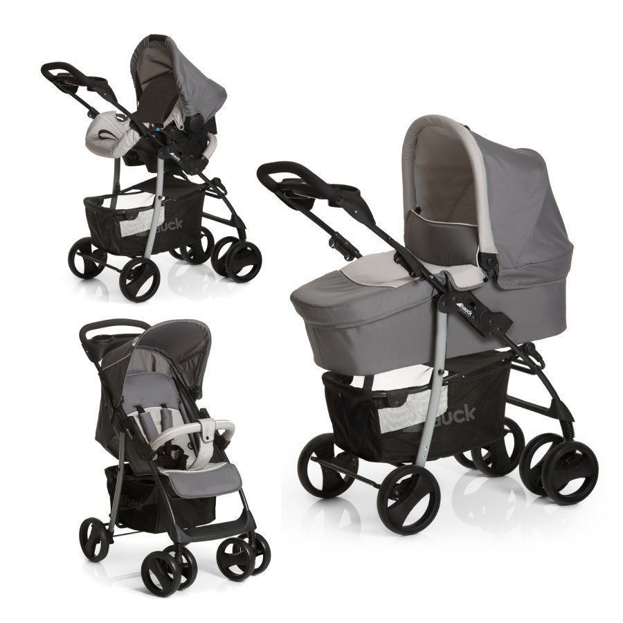 Hauck Travel System Shopper Slx Trioset 2015 / 16 Stone / Grey
