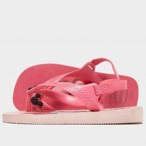 Havaianas Baby Disney Flip Flop Sandals Infant Vaaleanpunainen