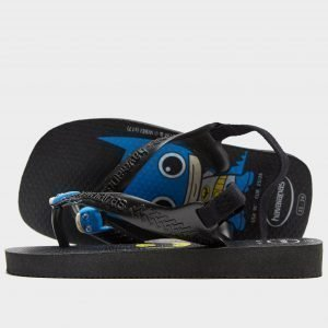 Havaianas Baby Herois Sandals Infant Musta