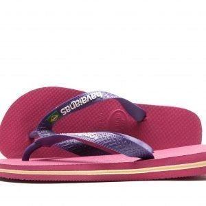 Havaianas Brazil Logo Sandaalit Raspberry / Purple