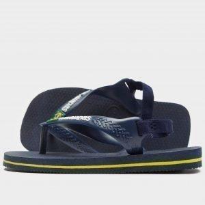 Havaianas Brazil Logo Sandaalit Sininen