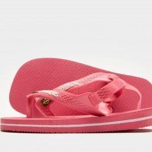 Havaianas Brazil Logo Sandaalit Vaaleanpunainen