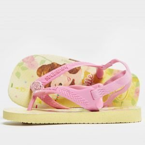 Havaianas Disney Princess Flip Flop Sandals Infant Keltainen