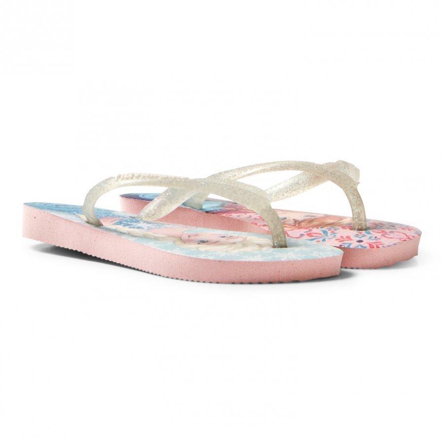 Havaianas Kids Slim Frozen Sandal Pearl Pink Sandaalit