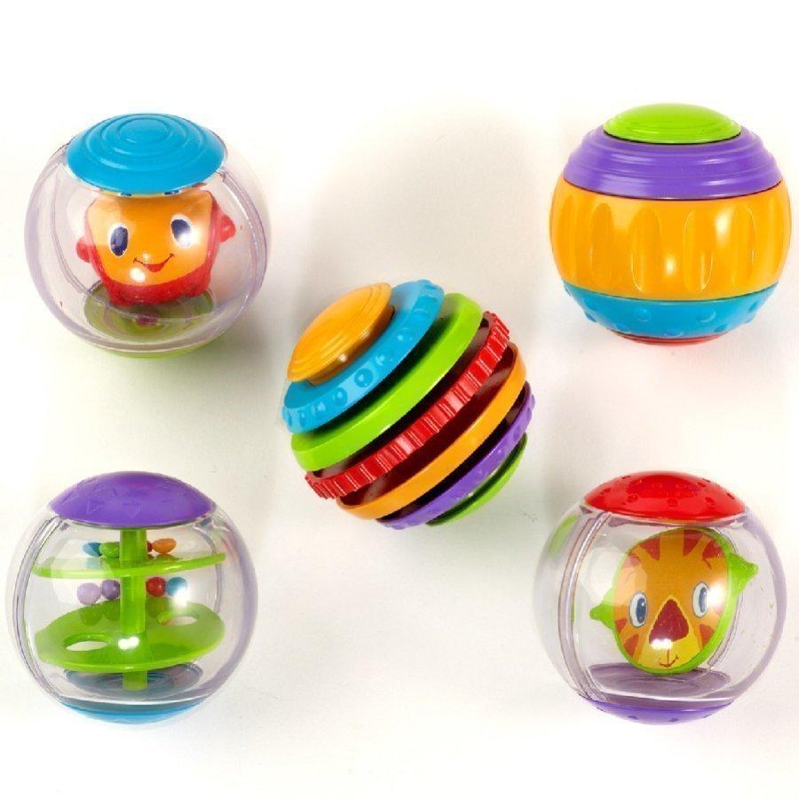 Hcm Bright Starts Vauvalelu Shake & Spin Activity Balls