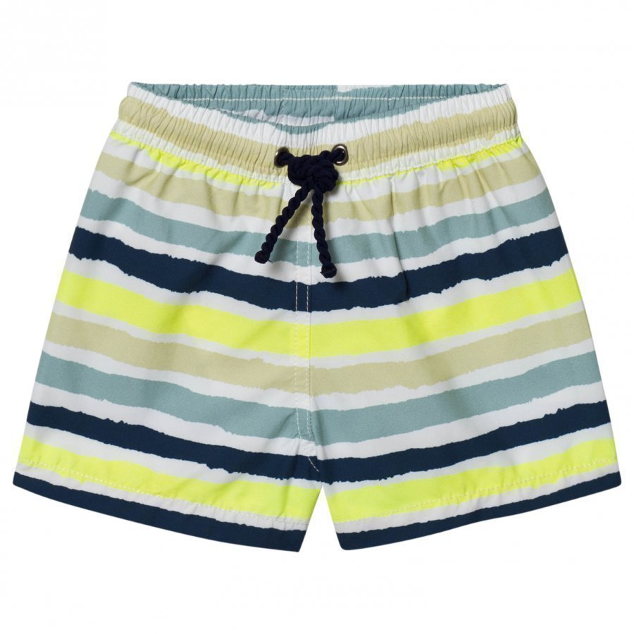 Heidi Klein Thomas Multi Colour Stripe Trunks Uimahousut