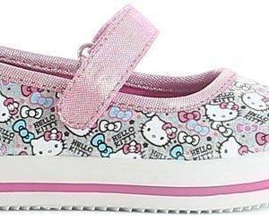 Hello Kitty Ballerinakengät Vaaleanpunainen