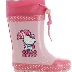 Hello Kitty Kumisaappaat Vaaleanpunainen