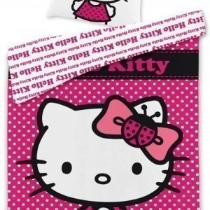 Hello Kitty Pussilakanasetti 150x210 & 50x60 cm