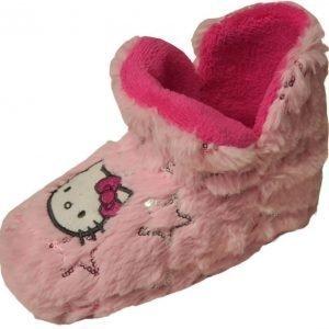 Hello Kitty Tossut Vaaleanpunainen/Hopea