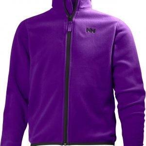Helly Hansen Jr Daybreaker Fleece Jacket Fleecetakki Purple