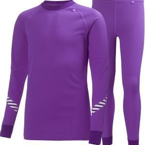 Helly Hansen Jr Dry Set Kerrasto Purple