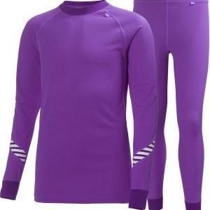 Helly Hansen Jr Dry Set Kerrasto Purple