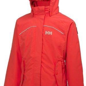Helly Hansen Jr Hilton Jacket Kuoritakki Punainen