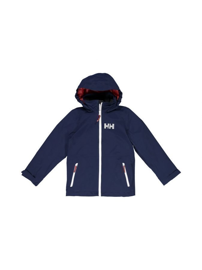tunnetut tuotemerkit uk saatavuus uusin muotoilu Helly Hansen Jr Rigging Rain Jacket Takki ...
