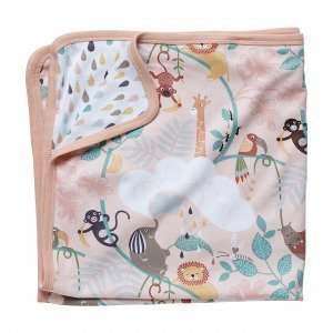 Hemtex Baby Lazy Jungle Eco Blanket Roosa 70x70cm