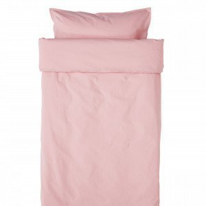 Hemtex Baby Smooth Eco 100x130 55x35cm Bedset Smooth Roosa
