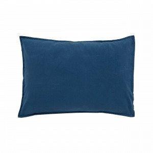Hemtex Baby Smooth Eco 38x55cm Pillowcase Smooth Denimsininen