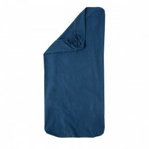 Hemtex Baby Smooth Eco 60x120+15cm Fitted Sheet Baby Eco Smooth Denimsininen