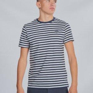 Henri Lloyd Even Stripe Ss T Shirt T-Paita Sininen