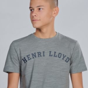 Henri Lloyd Marl Logo T Shirt T-Paita Harmaa