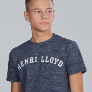 Henri Lloyd Marl Logo T Shirt T-Paita Sininen