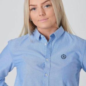 Henri Lloyd Ss Oxford Shirt Kauluspaita Sininen