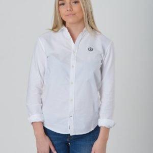 Henri Lloyd Ss Oxford Shirt Kauluspaita Valkoinen