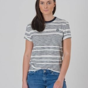 Henri Lloyd Yd Striped T Shirt T-Paita Sininen