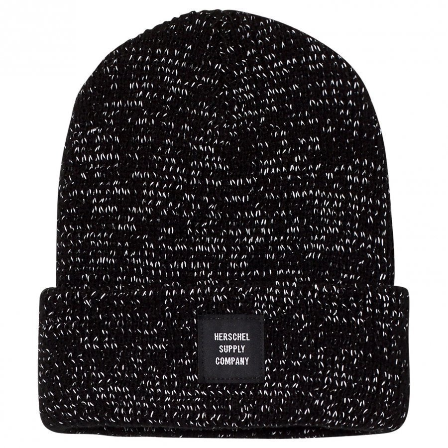 Herschel Abbott Youth Beanie Black Reflective Lippis