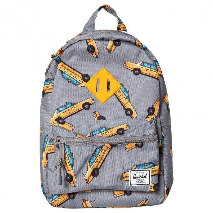 Herschel Heritage Kids Backpack Grey Taxi Reppu