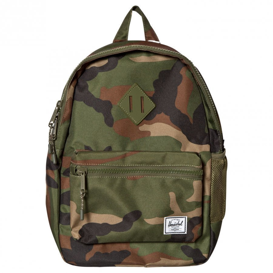 Herschel Heritage Youth Backpack Woodland Camo Reppu
