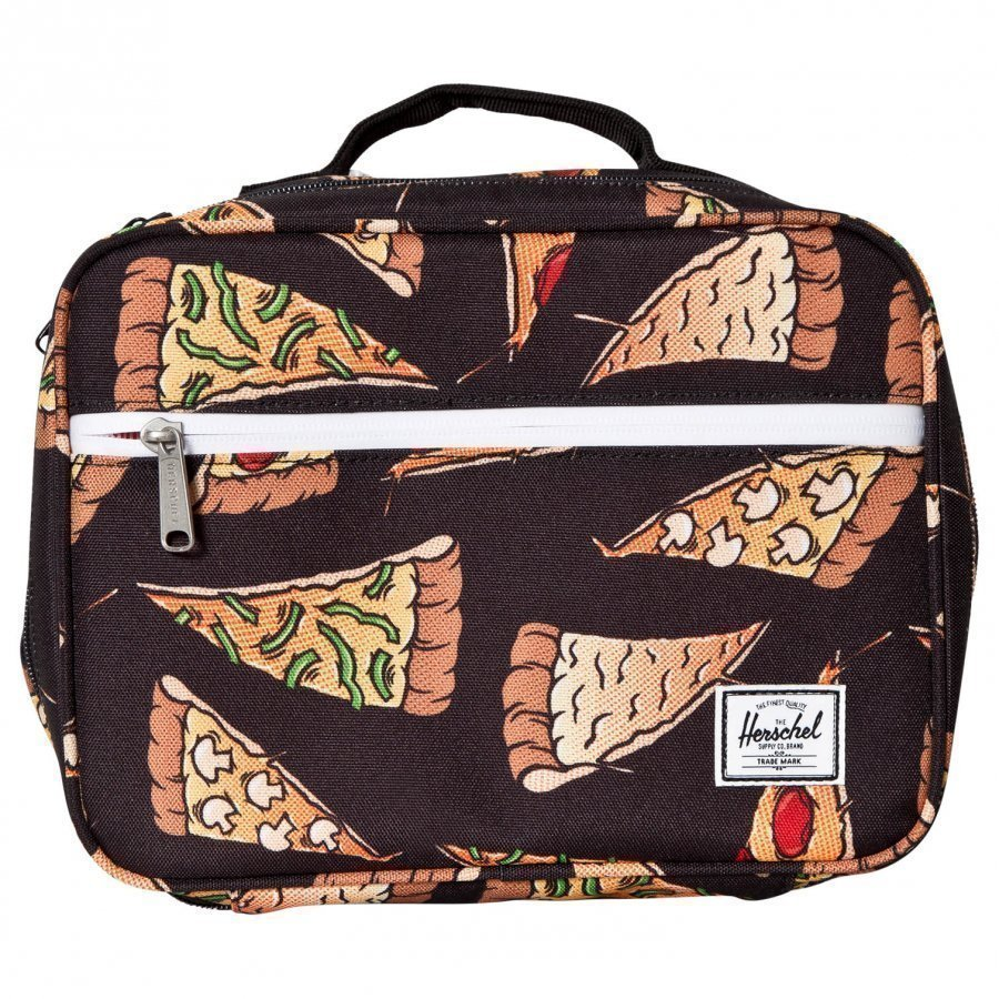 Herschel Pop Quiz Lunch Box Black Pizza Laukku