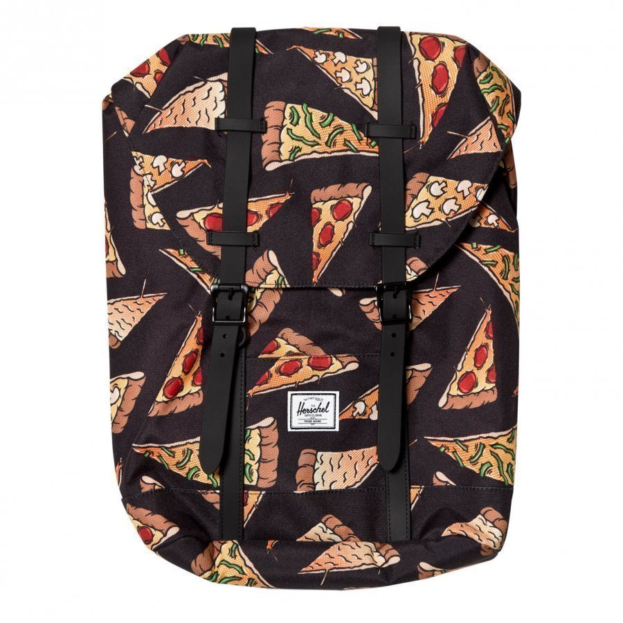 Herschel Retreat Youth Backpack Black Pizza Reppu