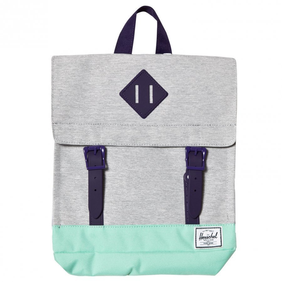 Herschel Survey Backpack Light Grey/Lucite Green Reppu