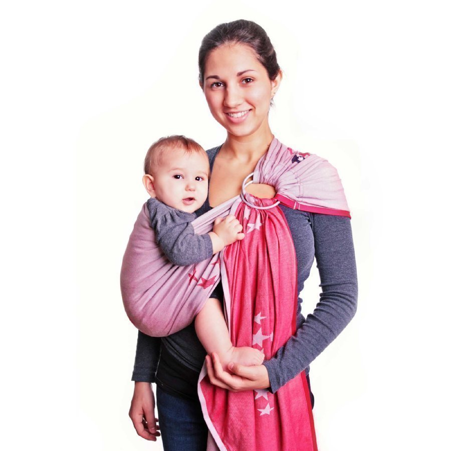 Hoppediz Ring Sling Kantoliina Los Angeles Red