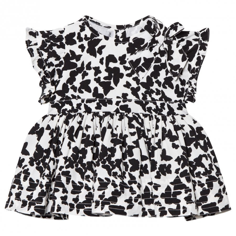 How To Kiss A Frog Fifi Dress Black Butterfly Juhlamekko