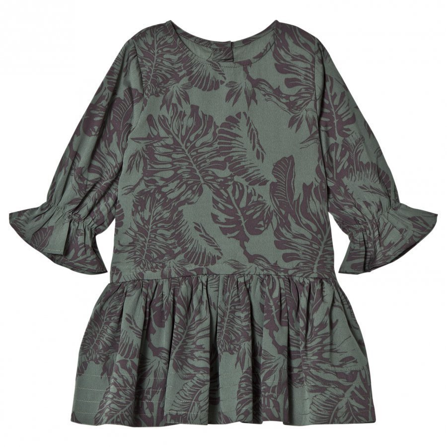 How To Kiss A Frog Margot Dress Leaf Juhlamekko