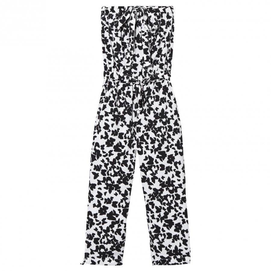 How To Kiss A Frog Moonlight Jumpsuit Black Butterfly Potkupuku