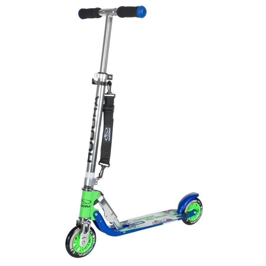 Hudora Big Wheel 125 Potkulauta Sininen / Vihreä
