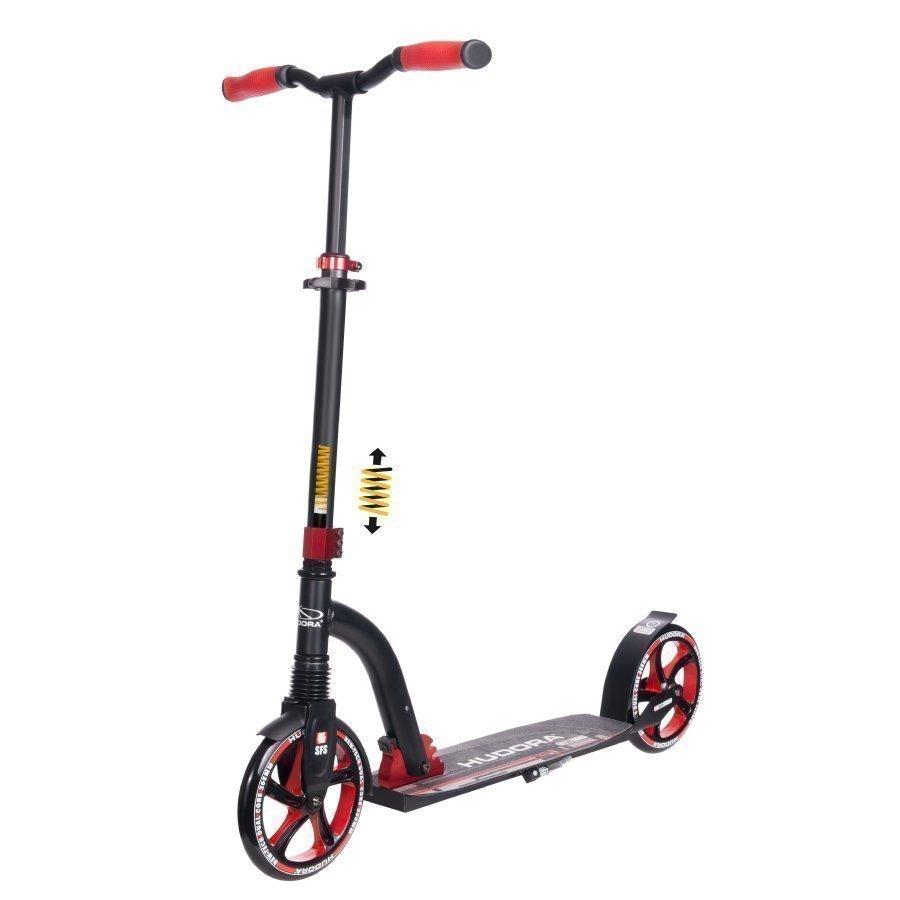 Hudora Big Wheel Flex 200 Potkulauta Punainen