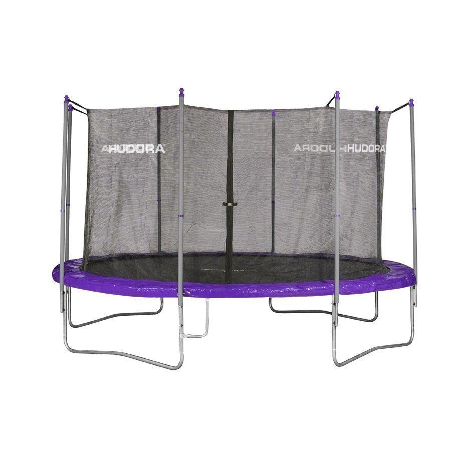 Hudora Fitness 400 Trampoliini Violetti / Harmaa