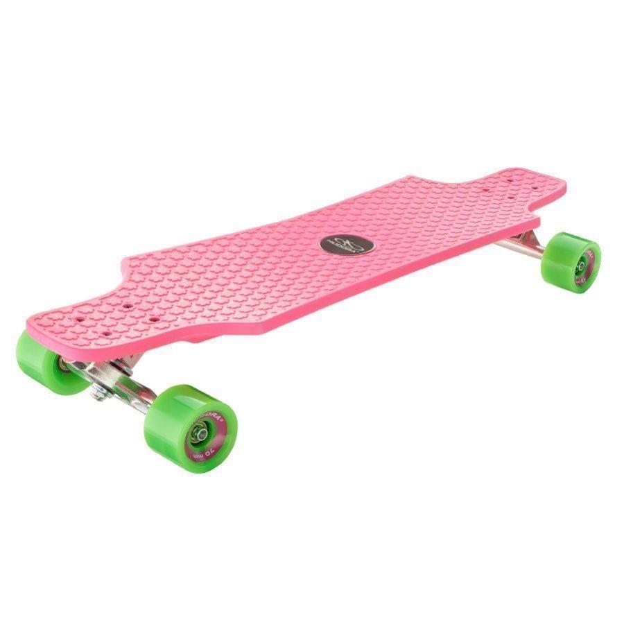 Hudora Longboard Fun Cruiser Pinkki 12712