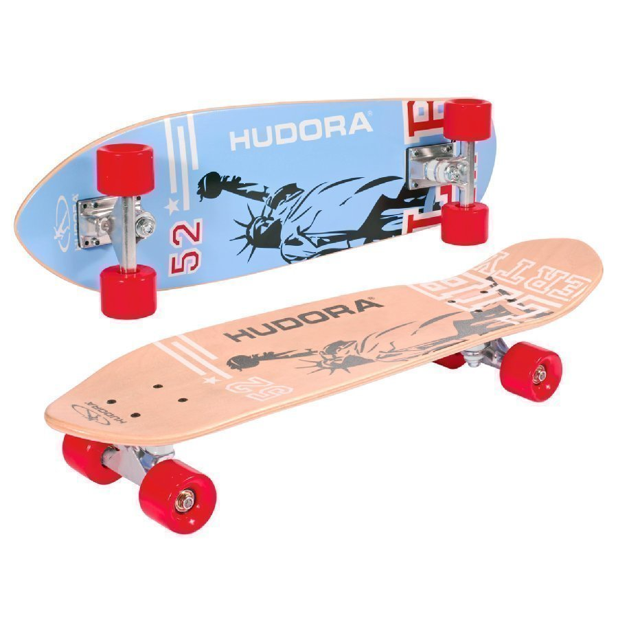 Hudora Longboard Skateboard Cruiser Abec 7